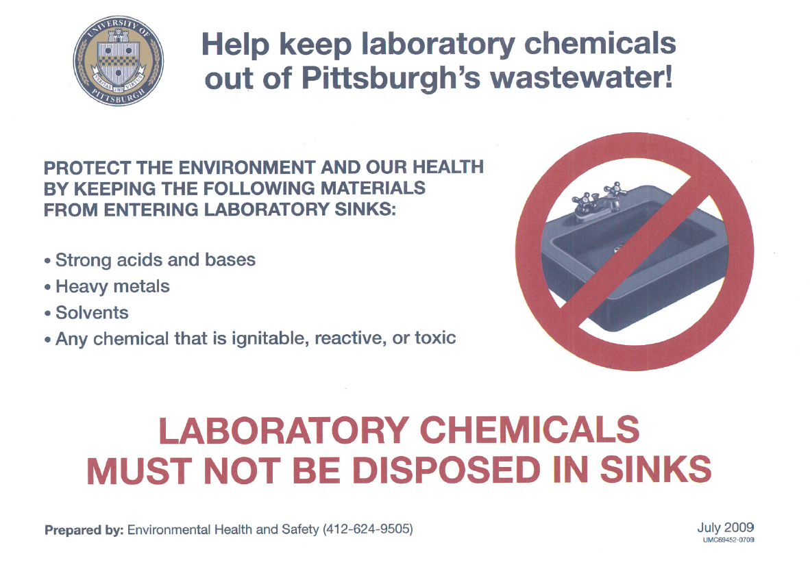 Chemical Waste Information (Labeling) – Department of Chemistry Intranet